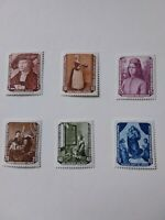 German Democratic Republic Stamps 1955 unmounted mint set famous paintings