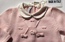 Baby Strampler Gr. 50/56 rosa, baby romper 0-1 month pink wool NEW SALE NP219EUR