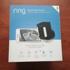 Ring Spotlight Cam Battery Security Camera 8SB1S7-BEN0 Black New Wirefree Alarm