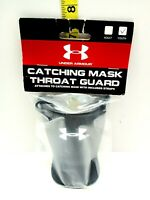 Under Armour UATG Black Throat Guard For Catcher Mask Catching Youth