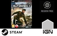 Blitzkrieg 3 [PC] Steam Download Key - FAST DELIVERY