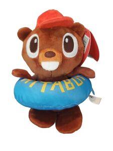 BARK box dog toy Lil Bucky Beaver Floaty- Camp Attaboy - Medium