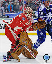 Detroit Red Wings Jimmy Howard Ice 8x10 Photo 2014 NHL Hockey Winter Classic