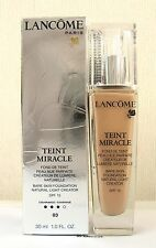 LANCOME TEINT MIRACLE Foundation - 30ml-Beige Diaphane - 03-Boxed