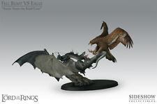 LOTR: Sideshow: FELL BEAST VS EAGLE: 'Battle Above The Black Gate' statue - RARE