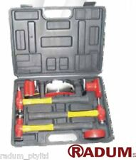 7 Piece Auto Body & Fender Repair Kit (Red) - by RADUM