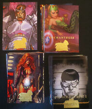 2008 COMPLETE SERIES 3 MARVEL MASTERPIECES COMIC TRADING CARD BASE SET , X MEN
