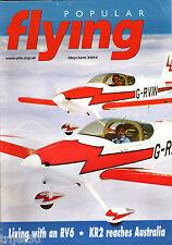 Popular Flying 2003 May-June RV-6,Daer Kitten,KR-2,Woody Pusher