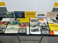 20+ Vintage Original 1930s GRAHAM Automotive Dealer Sales Brochure Catalog Photo