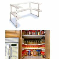 Spice Kitchen Shelf Organizer Rack Storage Holder Cabinet 2 Tier Stand Seasoning