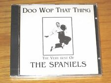 Doo Wop That Thing by The Spaniels (CD, Nov-2000, Dressed To Kill (UK)) SEALED