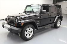 2013 Jeep Wrangler Unlimited Sahara Sport Utility 4-Door