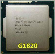 Intel Celeron G1820 CPU Dual-Core 2.7 GHz 2M SR1CN LGA 1150 Processor