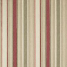 ROMAN BLIND, AWNING STRIPE RASPBERRY LICHEN Laura Ashley Fabric MADE TO MEASURE