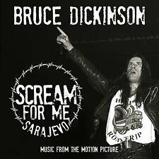 Bruce Dickinson SCREAM FOR ME SARAJEVO 180g GATEFOLD New Sealed Vinyl 2 LP