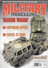 Military Modelling Magazine Nov96 Dragon Wagon LVT Amphibian Revell Scorpion CVR