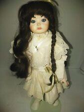 """Vintage Sfbj 252 17"""" Bisque Doll"""