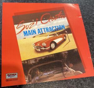 Suzi Quatro Main Attraction (CD) Pickwick (PKD3060) Rare Oz Release 1990 N/Mint