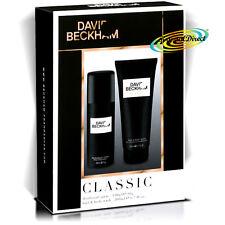 David Beckham Classic Xmas Birthday Gift Set For Men Deodorant Spray Shower GEl