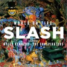 Slash-World On Fire [CD+T-Shirt - Large]  CD NEW