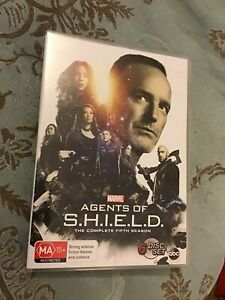 Marvel Agents Of Shield Complete Fifth Season Dvd