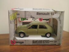 Bburago Renault 14 TL  (HAT 139) 1/24 Scale. Made in Italy.