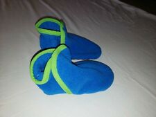 Patagonia Synch Booties Boy Girl 4-5T Large  Classic Blue Slippers Shoes