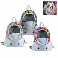 Pet Dog Puppy Backpack Carrier Travel Note Bag Front Net Double Sling Shoulderr