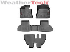 WeatherTech Floor Mats FloorLiner for BMW X5 w/ 3rd row - 2014-2017 - Black