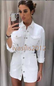 Zara Denim Short Dresses for Women for sale | eBay