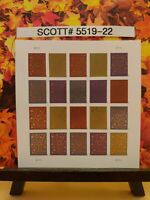 Scott # 5519-22 - Thank You - Sheet of (20) Forever Stamps