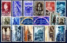 1953 - ANNATA COMPLETA USATI prima scelta