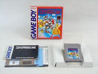 Super Mario Land Nintendo Game Boy Original Boxed PAL