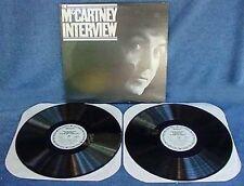 PAUL McCARTNEY - INTERVIEW - (2) LP SET -COLUMBIA - '80