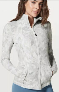 LULULEMON DEFINE JACKET 6 JASMINE WHITE EUC worn 1x Perfect Condition Free Ship