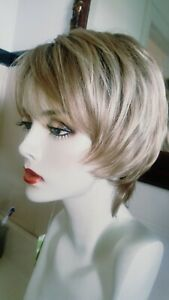 NEW SAVANNAH BY ENVY MONOFILANENT WIG SYNTHETIC SPARKLING CHAMPAIGN
