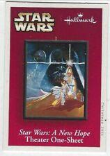 Star Wars Anh Theater poster Hallmark Keepsake ornament collector card (2004)