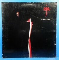 STEELY DAN AJA VINYL LP 1977 ORIGINAL PRESS JAZZ ROCK NICE CONDITION!! VG/VG!!A