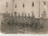 1927 soldiers rifle military army early Soviet Russian vintage photo