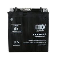 YTX16-BS Motorbike Battery for KAWASAKI VN1600-A Vulcan Classic 1600CC 03-'09