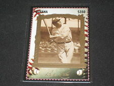 BABE RUTH YANKEES CHAMPION LEGEND LIMITED EDITION GUYANA 1994 BASEBALL CARD #11