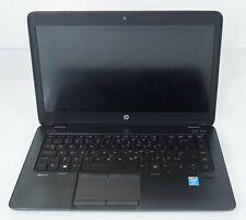 """HP ZBook 14 14"""" Intel i7-4600U 2.1GHz 8GB DDR3 M4100 Fair No HDD COA"""