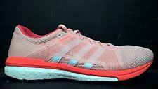 Adidas Women's Size 8.5 Adizero Tempo 8 SSF Running Shoes, AQ6112, Pink White
