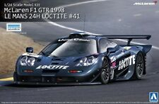 AOSHIMA MCLAREN F1 GTR LOCTITE 1998 LE MANS 24H Scala 1/24 Cod 00750