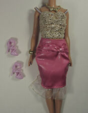 Mimi World Doll Outfit Korean Exclusive Fits Petite Barbie Shoes Jewelry