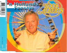 KOOS ALBERTS - 'N Hollands Feestje CD SINGLE 2TR Sony Music 2002 RARE