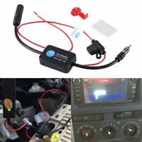 Booster inline Amplificador de antena Auto stereo FM & am La señal de radio
