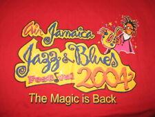 2004 Jazz & Blues Festival (Xl) T-Shirt Alicia Keys Kenny Rogers Nancy Wilson