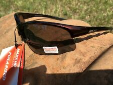 Maxx HD Sunglasses Domain HDP black bronze brown fishing polarized smoke golf