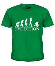 Electricista Evolution Infantil Camiseta Top Regalo Ropa de Trabajo Regalo S